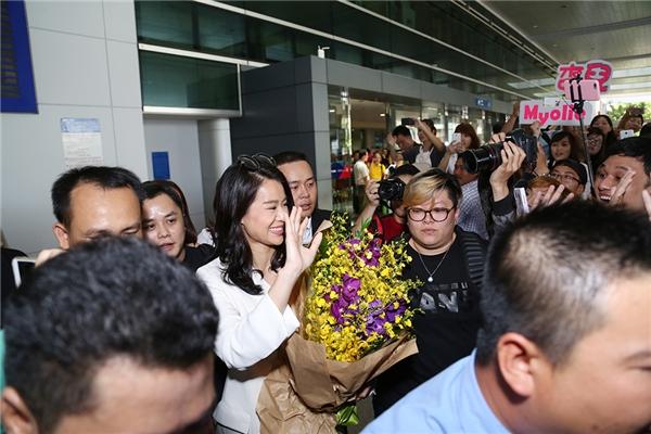 Tối nay, Hồ Hạnh Nhi sẽ có mặt tại trung tâm hội nghị nổi tiếng ở Hồ Chí Minh để tham dự buổi tiệc tối với nhiều nghệ sĩ nổi tiếng ở Việt Nam.