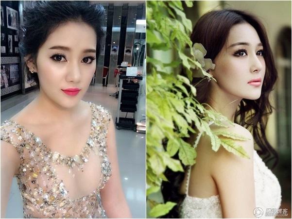 Không ít dân mạng ngỡ ngàng trước nhan sắc có phần khá giốngvới nữ diễn viên Trương Hinh Dư của hot girl Milan Phạm. (Ảnh: Internet)