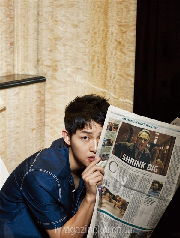Những khoảnh khắc đẹp từng centimet của Song Joong Ki