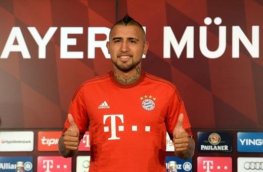 """Vidal đang hạnh phúc khi thi đấu cho """"Hùm Xám"""""""