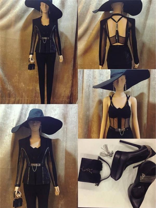 Chi tiết bộ trang phục được stylist Đỗ Long chia sẻ trên trang cá nhân. - Tin sao Viet - Tin tuc sao Viet - Scandal sao Viet - Tin tuc cua Sao - Tin cua Sao