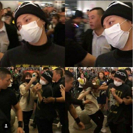 G-Dragon nhận chỉ trích nặng nề vì bạo lực với fan tại sân bay?