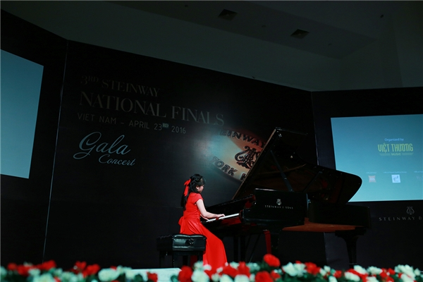 Lộ diện quán quân Steinway International Youth Piano Competition