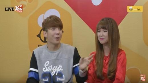 """YAN Chat: Huy Khánh """"cảm thấy hoang mang"""" khi tham gia YAN Chat cùng Khởi My"""