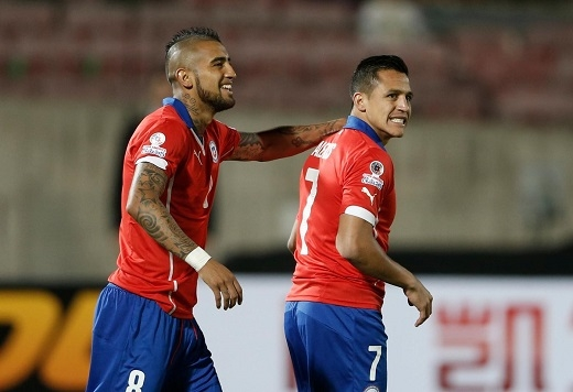 Vidal đang muốn cậu bạn thân của mình chuyển đến Allianz Arena