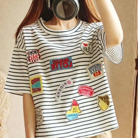 Thực ra bạn còn có thể thỏa sức sáng tạo với áo thun bằng những sticker này. (Ảnh: Internet)