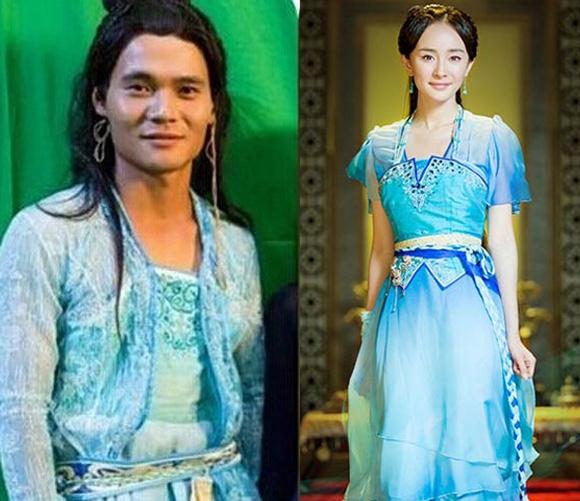 Fan của Dương Mịch có lẽ sẽ phải khóc thét khi nhìn thấy dung nhan của nam cascadeur cho thần tượng trong Cổ Kiếm Kỳ Đàm.