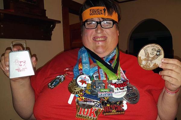 Nghị lực của Derekđã trở thành niềm cảm hứng cho những người gặp vấn đề về cân nặng.