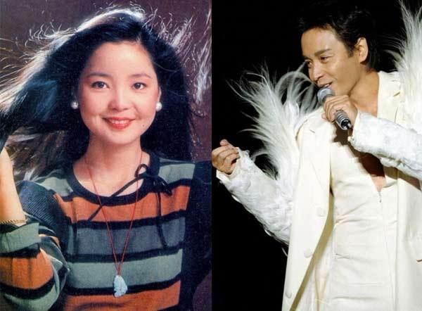 Đặng Lệ Quân và Trương Quốc Vinh là quá khứ hoàng kim của âm nhạc Hoa ngữ. Ảnh: Sina.