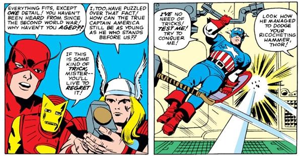 Đây là cuộc xung đột lần đầu 2 siêu anh hùng trong truyện tranh.(Ảnh: Internet)