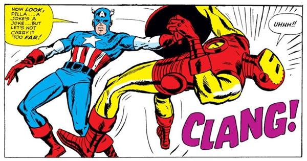 Captain America giả cuối cùng cũng bị bắt.(Ảnh: Internet)