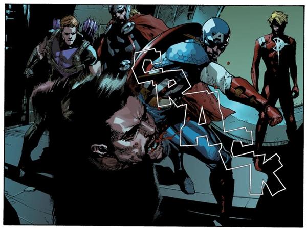 Captain America phát hiện ra rằng Iron Man (và một số siêu nhân khác) đang che giấu một bí mật. (Ảnh: Internet)