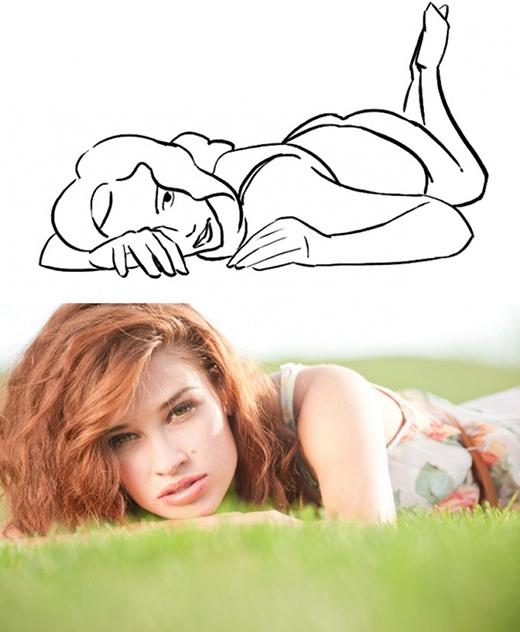 """Rất đáng yêu phải không nào? Bạn có thể chụp trên giường, cỏ xanh hay đơn giản là một tấm thảm """"chất"""" một xíu. (Ảnh: Internet)"""