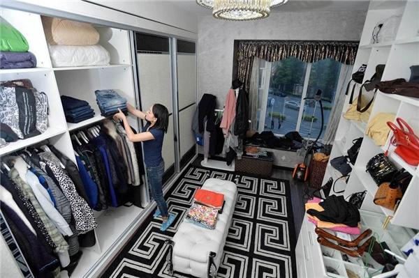 Tủ quần áo sau khi được sắp xếp hoàn chỉnh (Ảnh: Internet)