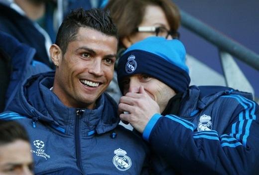 Chỉ cần Ronaldo có mặt trên sân, các đồng đội của anh như được tiếp thêm sức mạnh tinh thần.