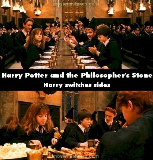 Harry Potter dùng phép thuật để chuyển chỗ ngồi trong tức thì hay sao? (Ảnh: Internet)