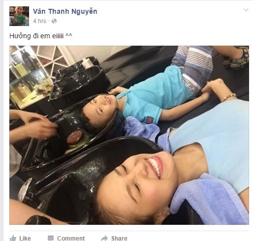Muôn kiểu nghỉ lễ không ai giống ai của sao Việt - Tin sao Viet - Tin tuc sao Viet - Scandal sao Viet - Tin tuc cua Sao - Tin cua Sao