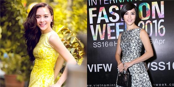 Trên thảm đỏ Tuần lễ Thời trang Quốc tế Việt Nam Xuân - Hè 2016, Á hậu Dương Trương Thiên Lý gây bất ngờ với kiểu tóc tém cá tính, năng động. Bởi từ sau khi đăng quang đến nay, công chúng vẫn quen thuộc với mái tóc dài hoặc chí ít chấm ngang vai thanh lịch, điệu đà của cô.
