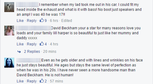 Một vài bình luận của người hâm mộ. (Ảnh: Internet)