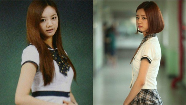 Càng lớn, Hyeri (Girl's Day) trông càng sắc sảo hơn.