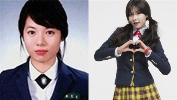 Sóng mũi cao cùng đôi mắt to tròn cho thấy Hyuna (4Minute) là một cô gái thông minh, sáng dạ.