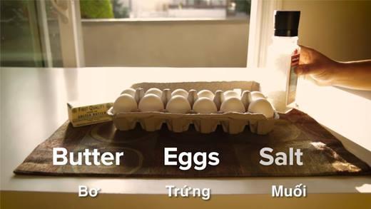 """Bí quyết để có một món trứng chiên thật """"gợi cảm"""""""