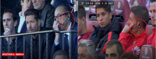 Tập thể Atletico trợ giúp Simeone lách luật?