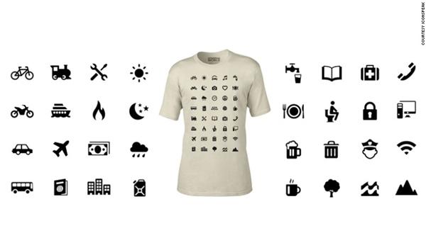 """Chiếc áo Iconspeak """"gây sốt"""" trên toàn thế giới.(Ảnh: Internet)"""
