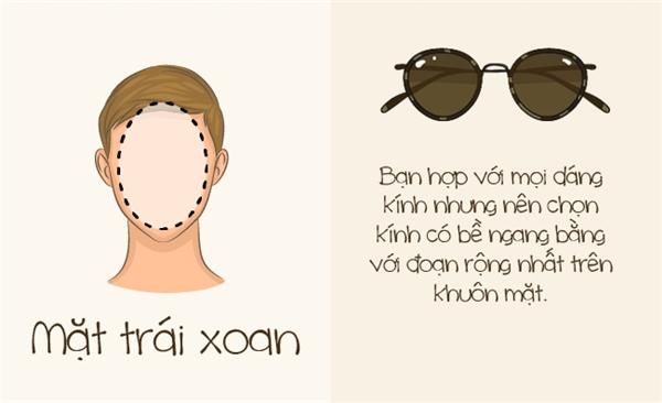 Mặt trái xoan được xem là khuôn mặt cân đối nhất nên phù hợp với mọi loại kính. (Ảnh: Bright Side)