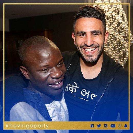 Bộ đôi ngôi sao N'Golo Kante và Riyad Mahrez đóng góp lớn nhất vào chiến tích của Leicester City, bên cạnh tiền đạoJamie Vardy.