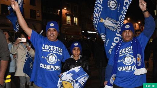 Leicester sẽ lập thành tích dẫn đầu trong 147 ngày, nhiều thứ 14 trong số các nhà vô địch Ngoại hạng Anh.