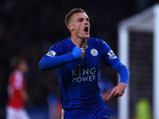 Cùng Leicester, Jamie Vardy đã trải qua một mùa giải thần kì