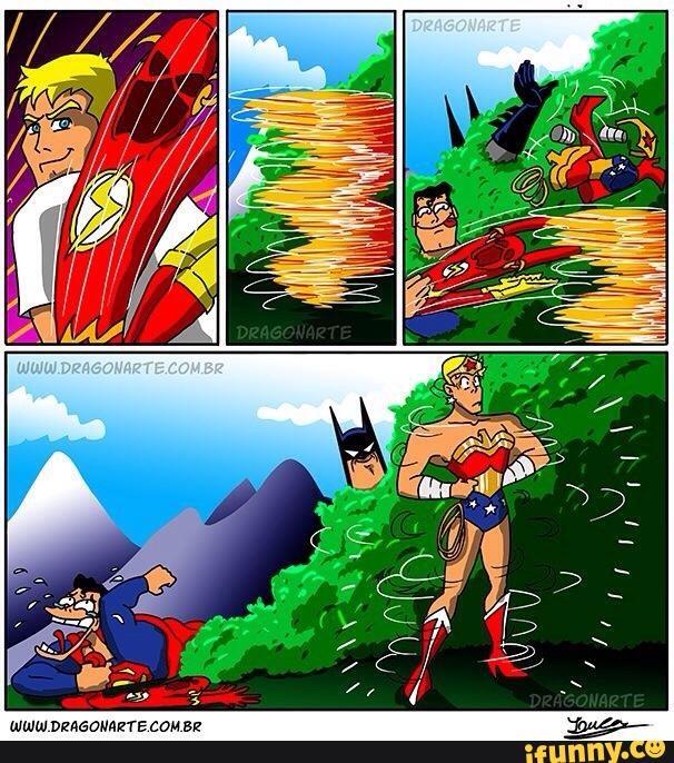 Khi Superman và Batman đoàn kết chơi khăm The Flash.