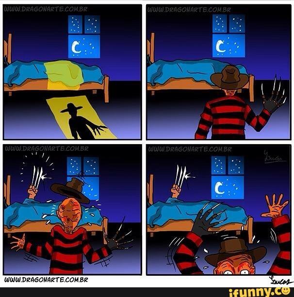 Freddy Krueger, cơn ác mộng trên Phố Elm, đã gặp ác mộng thực sự vì trót hù dọa Wolverine.