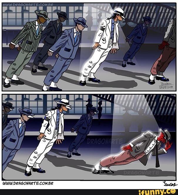 Đến Michael Jackson còn không moonwalk dẻo bằng Spider-Man.