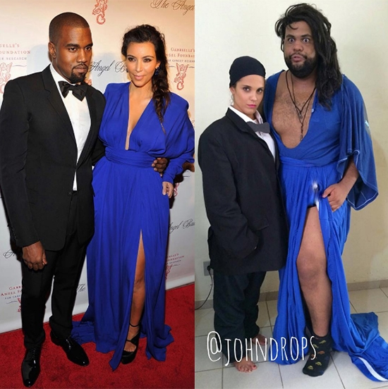 """Có lẽ, Kim Kardashian là người mà Joao Paulo thực hiện phiên bản """"có tâm"""" nhất."""