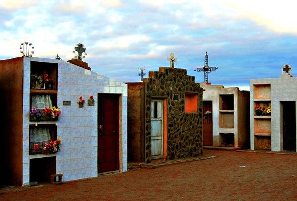 Nghĩa trang nơi chôn cất bé Angelito tạiBanda Florida, Argentina. (Ảnh: Internet)