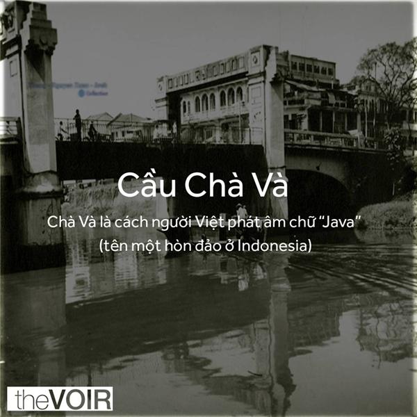 Chà Và trước đây là khu vực sinh sống của người Ấn Độ và Philipines. (Ảnh: TheVOIR)