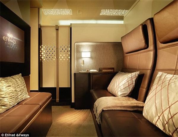 The Residence chỉ có duy nhất trên chuyến bay của Etihad. (Ảnh: Internet)