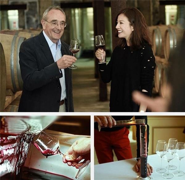 """""""Én nhỏ"""" mời """"vua rượu Bordeaux"""" làm cố vấn cho thương hiệu rượu vang của cô. (Ảnh: Internet)"""