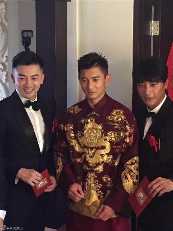 Trần Chí Bằng và 2 cựu thành viên Tiểu Hổ Đội là Ngô Kỳ Long và Tô Hữu Bằng