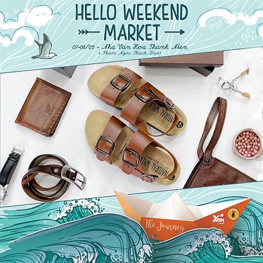Đến Hello Weekend Market và kể về những chuyến đi
