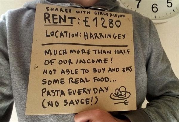 3 triệu người thuê trọ tại London đang từng ngày chịu đựng những rất nhiều điều bất cập. (Ảnh: Internet)