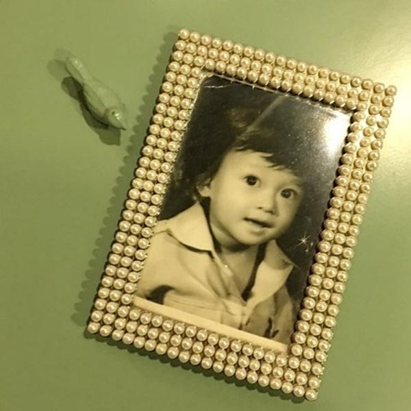Nhiều khán giả còn nhận xét bé gái có gương mặt khá giống Quang Vinh lúc nhỏ. - Tin sao Viet - Tin tuc sao Viet - Scandal sao Viet - Tin tuc cua Sao - Tin cua Sao