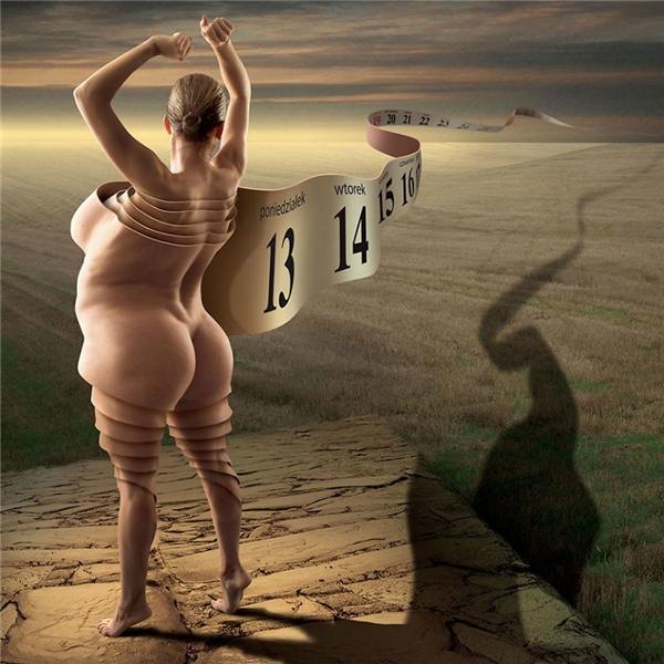 Vẻ đẹp của người phụ nữ được quyết định bởi số đo hình thể.