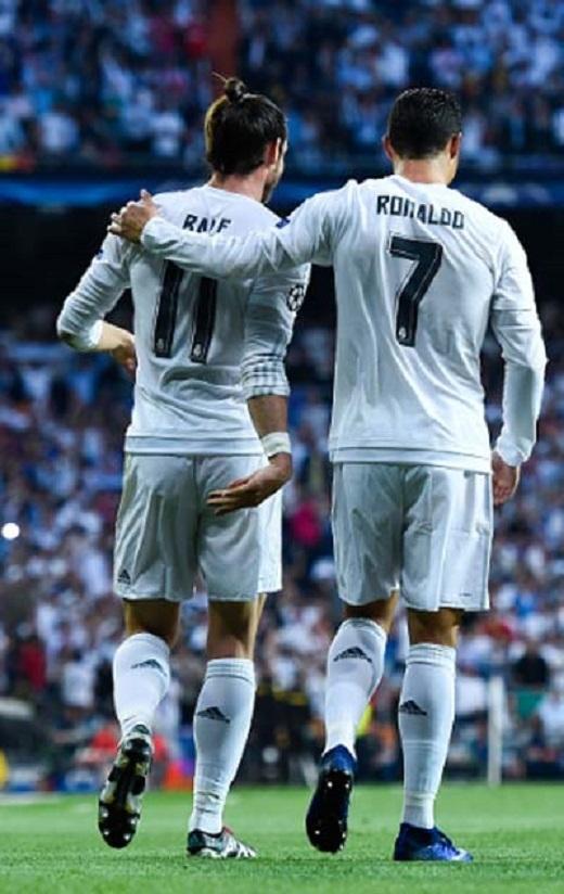 Ronaldo tiếp tục cầm trịch khâu ghi bàn trong khi Bale đang tỏa sáng đúng lúc cho Real