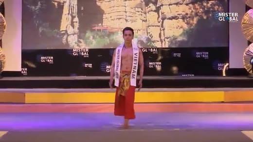 """Đại diện Việt Nam bớt """"bành bèo"""" trong đêm thi chung kết Mister Global 2016"""