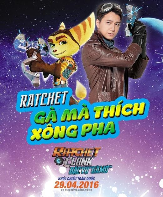 Bộ đôi Ratchet & Clank do Ngô Kiến Huy và Kiều Minh Tuấn thủ vai. - Tin sao Viet - Tin tuc sao Viet - Scandal sao Viet - Tin tuc cua Sao - Tin cua Sao