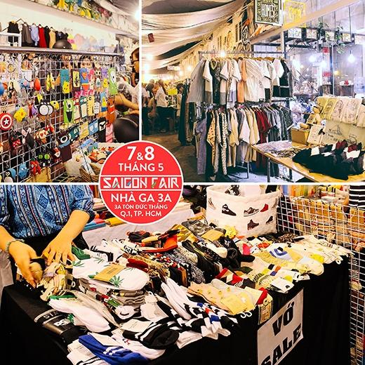 Ăn cực đã, mua đồ thả ga tại hội chợ Saigon Fair