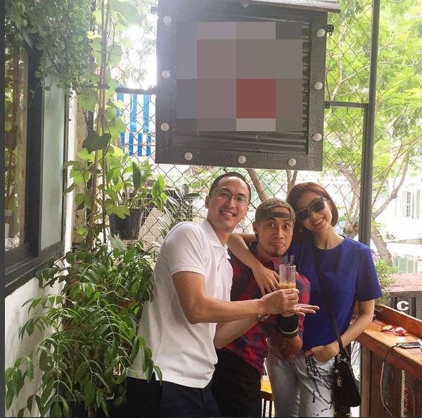Louis Nguyễn cũng thường xuyên đưa vợtới những bữa gặp mặt bạn bè để cô vui vẻ thoải mái. - Tin sao Viet - Tin tuc sao Viet - Scandal sao Viet - Tin tuc cua Sao - Tin cua Sao